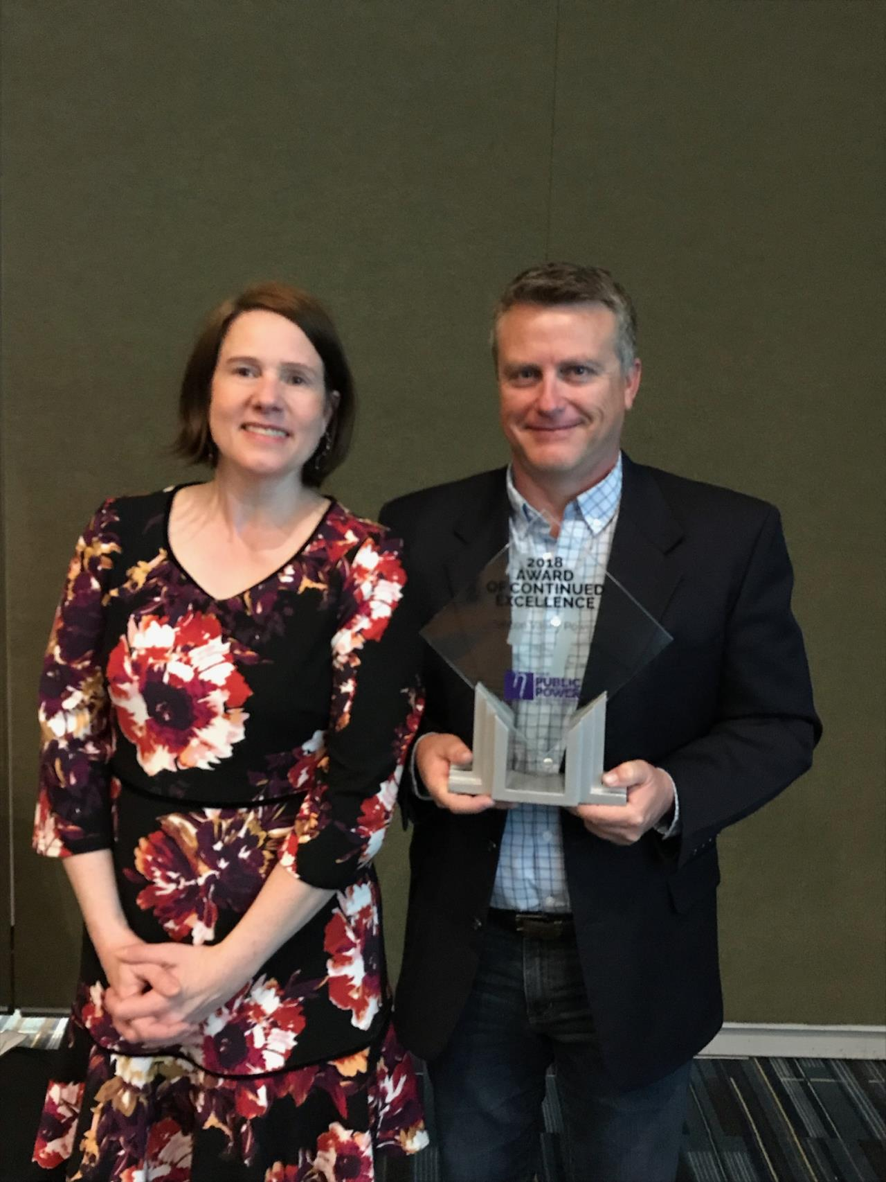 SVP Receives 2018 Award of Continued Excellence