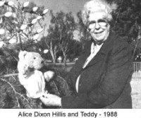 Alice with Teddy 1988