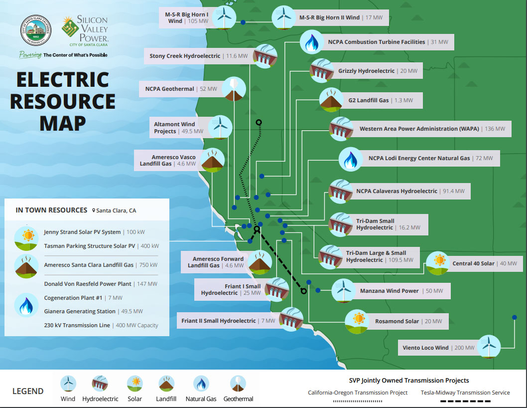 Electric Resource Map